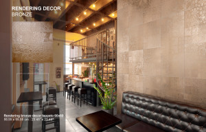 Rendering Decor Bronze