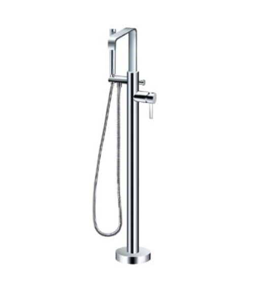 Free Standing Bathtub Mixer Hand Shower And Hose German Home